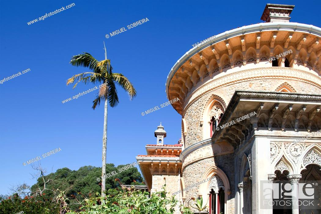 Imagen: Monserrate Palace Villa and Grounds - Sintra Portugal.