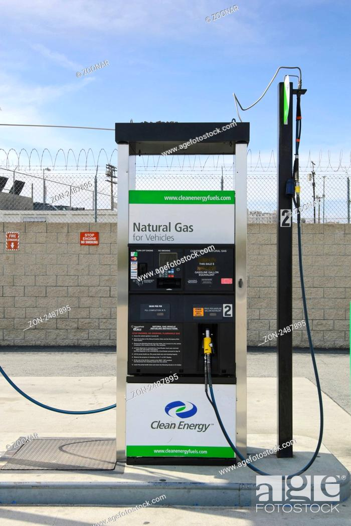 Stock Photo Compressed Natural Gas Cng Is A Fossil Fuel Subsute For Gasoline Petrol Its Combustion Does Produce Greenhouse Gases But It S More