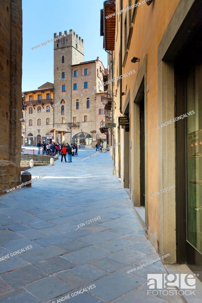 Stock Photo: Arezzo, Italy.