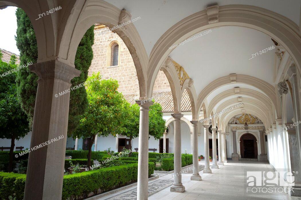 Stock Photo: Granada Charterhouse (Andalusia, Spain).