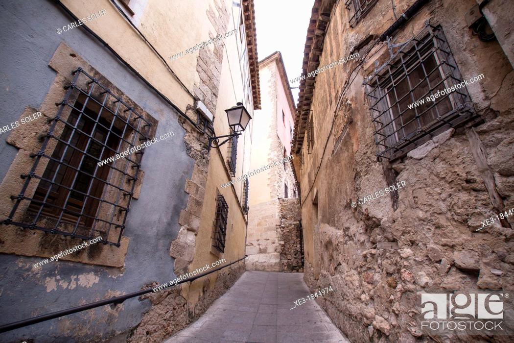 Imagen: Cuenca street, Castile-La Mancha, Spain.
