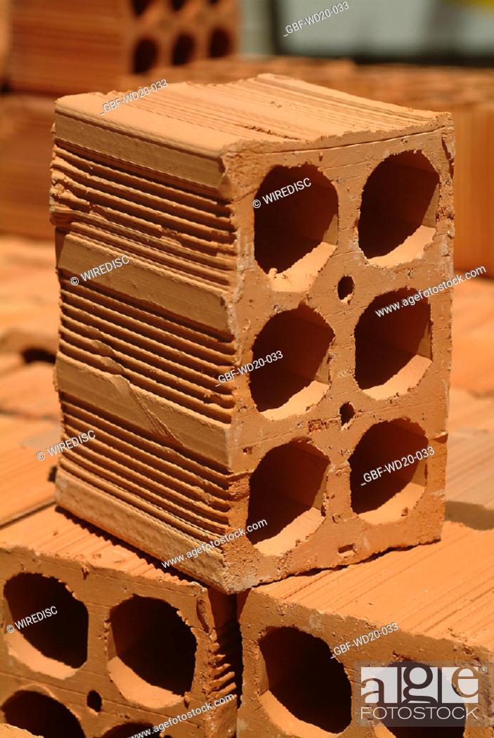 Stock Photo: Construction, building, architecture, Brazil.