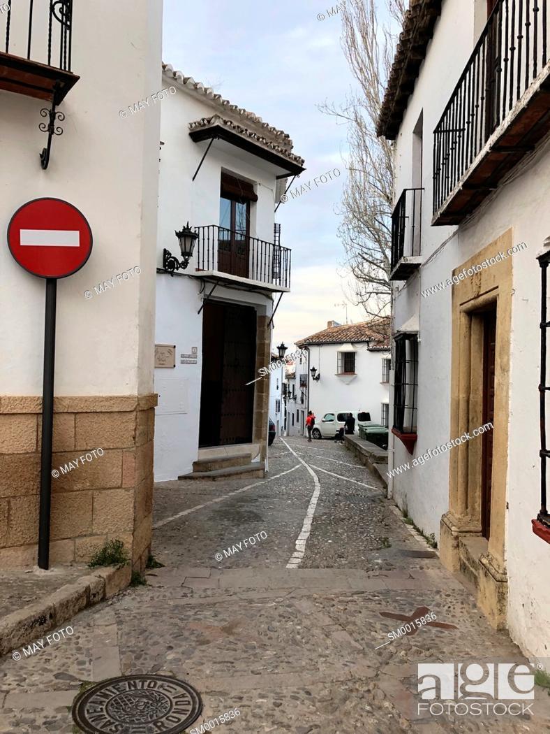 Stock Photo: Ronda, Málaga, Spain, Europe.