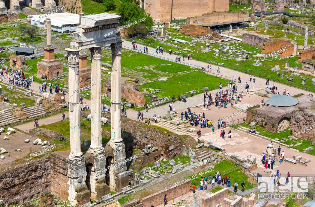 Imagen: Roman Forum, Rome, Italy, Europe.