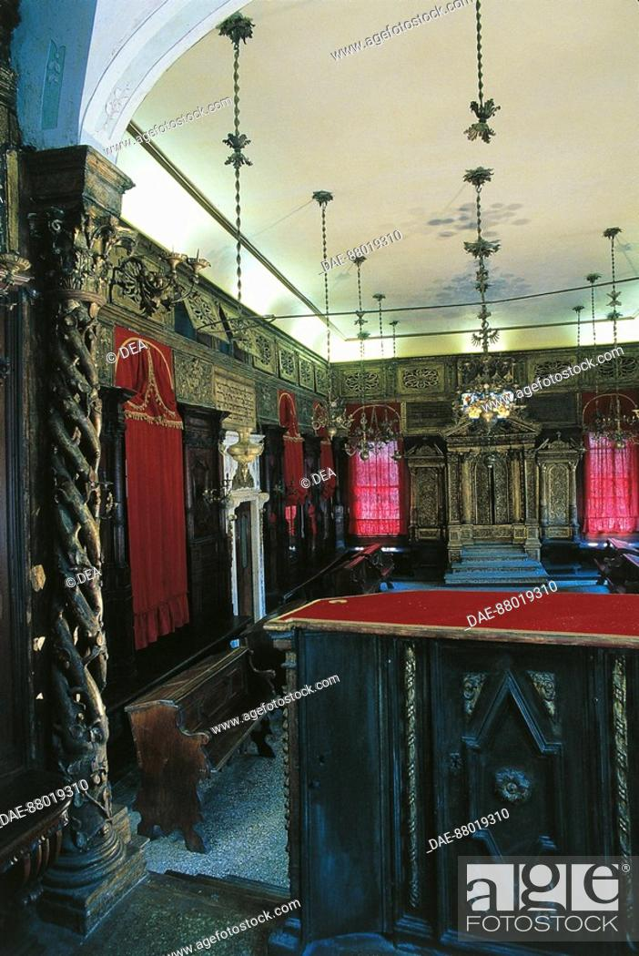 Stock Photo: Italy - Veneto Region - Venice - Synagogue.