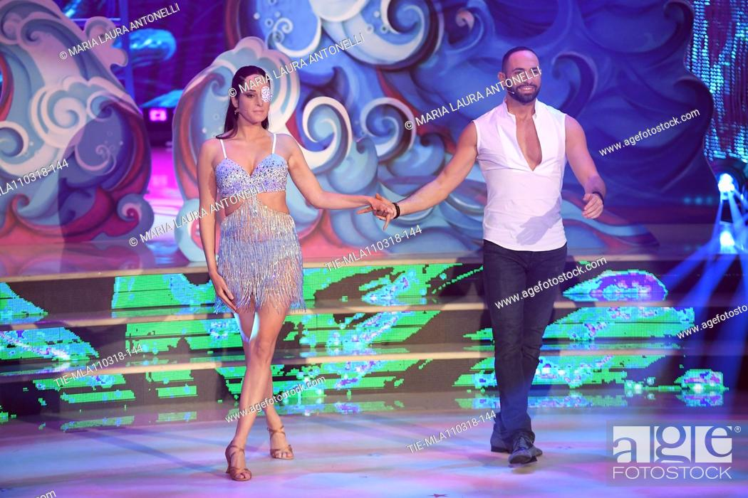 Gessica Notaro Stefano Oradei During The Talent Show Dancing With