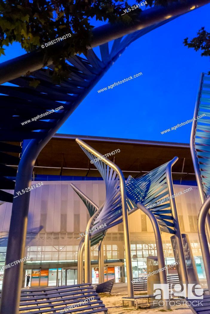 Imagen: Barcelona, Spain, CCIB Convention Center, Building.