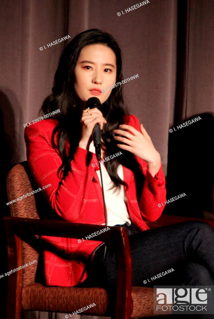 "Stock Photo: Liu Yifei 03/07/2020 """"Mulan"""" Special Screening held at The Directors Guild of America Theatre in Los Angeles, CA. Photo by I."