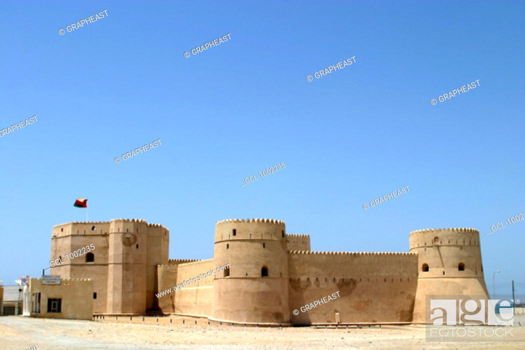 Stock Photo: Fort in Barka, Oman.