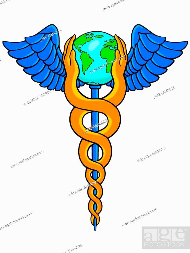 Stock Photo: A medical symbol.