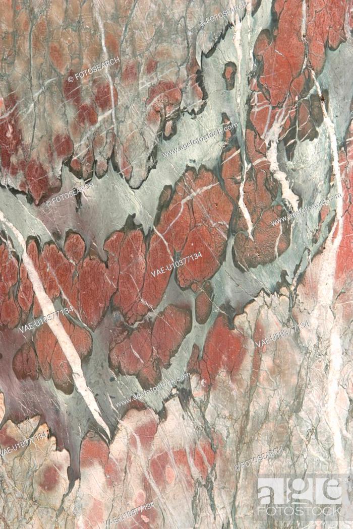 Stock Photo: detail, geology, metamorphic, rock, mottled, rough.