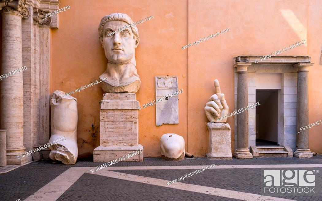 25793acd335 Stock Photo - Constantine Sculpture