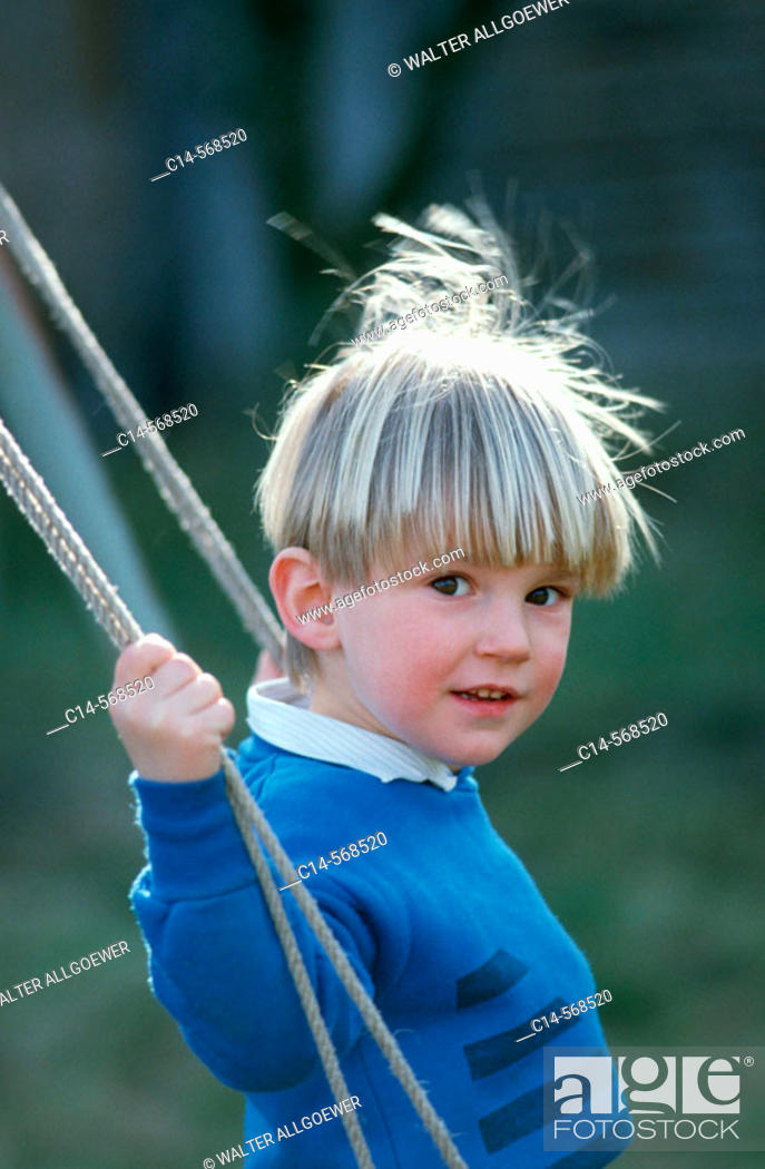 Stock Photo: 5-year old boy.