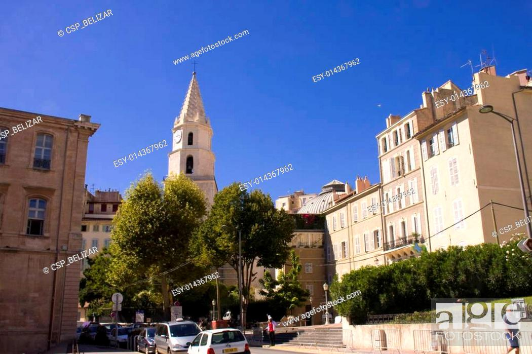 Stock Photo: Iglesia de Notre-Dame-des-Accoules.