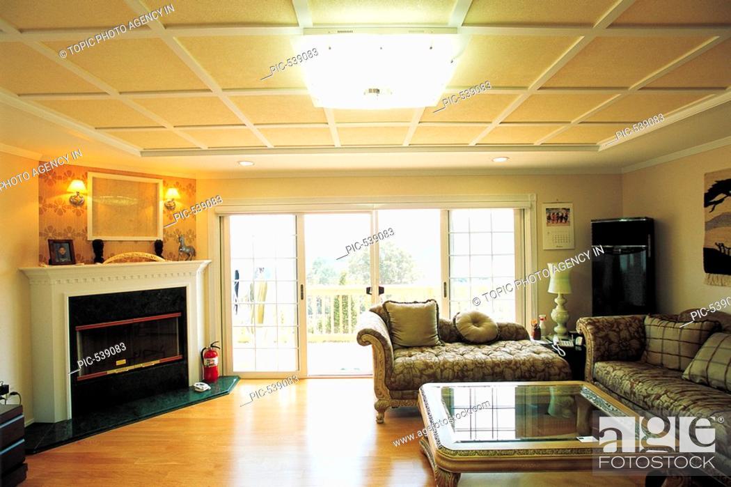 Stock Photo: Interior Of Living Room.