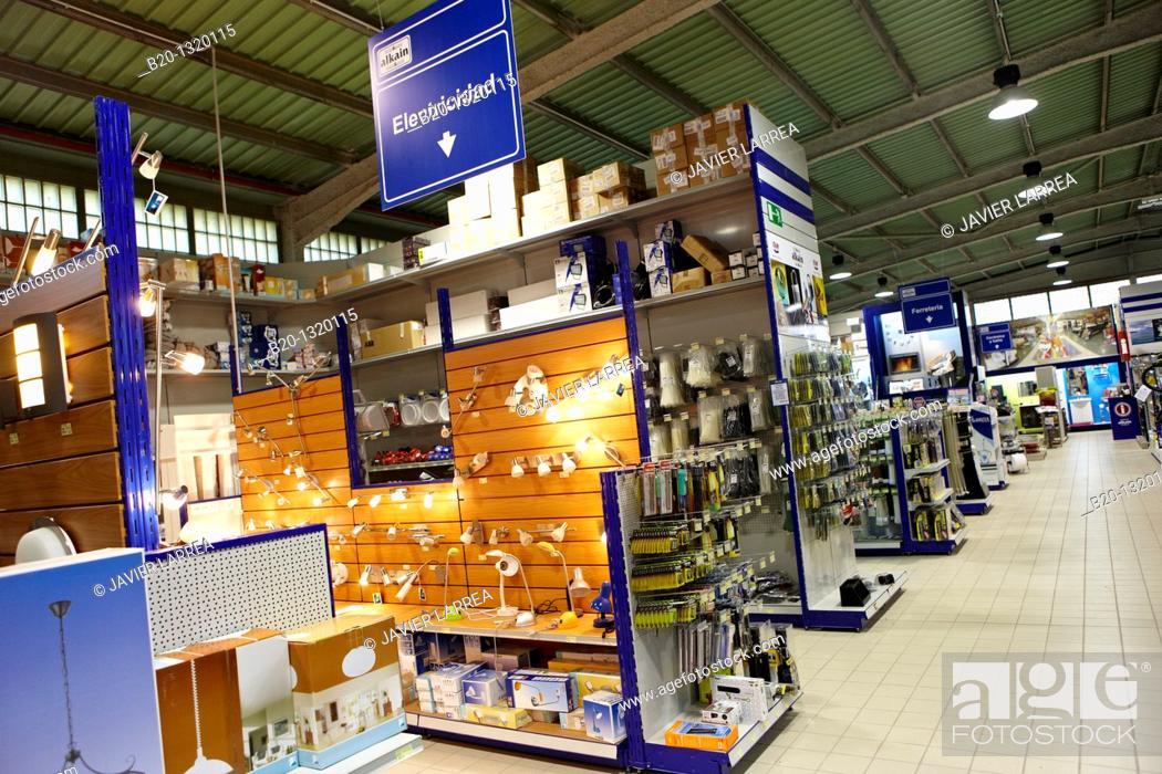 Stock Photo: Hardware store, Gipuzkoa, Euskadi, Spain.