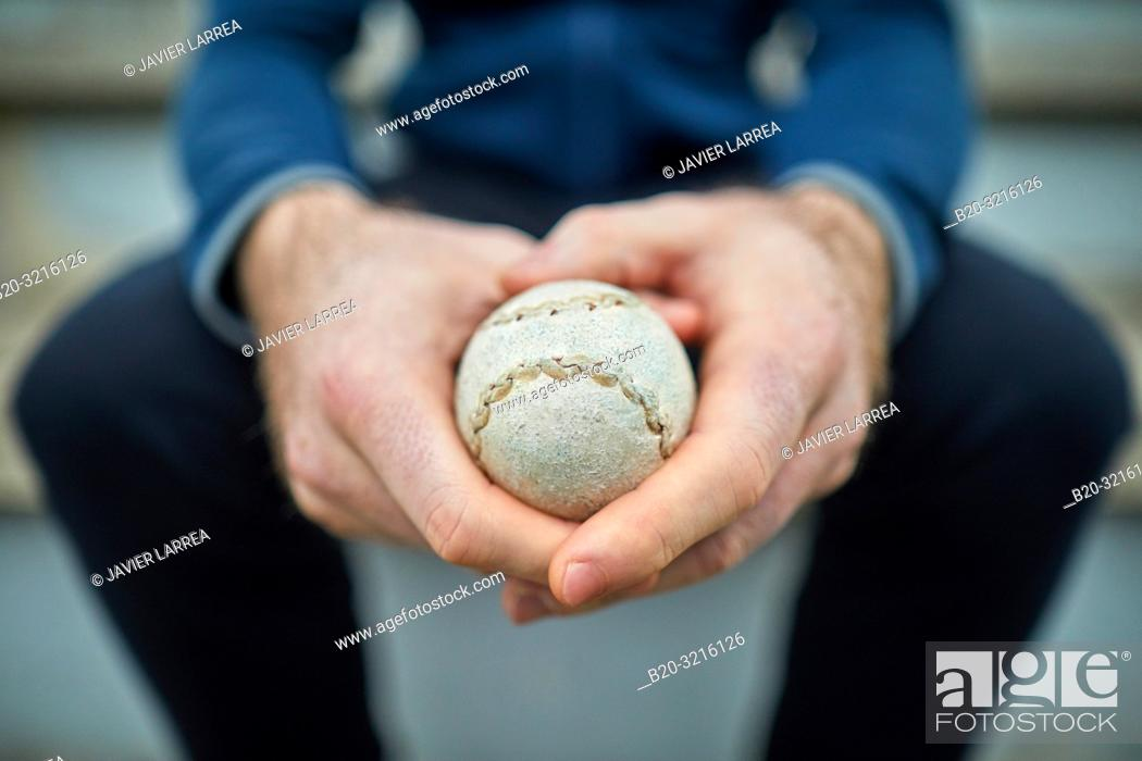Stock Photo: Basque Pelota, Fronton, Bilbao, Basque Country, Spain.