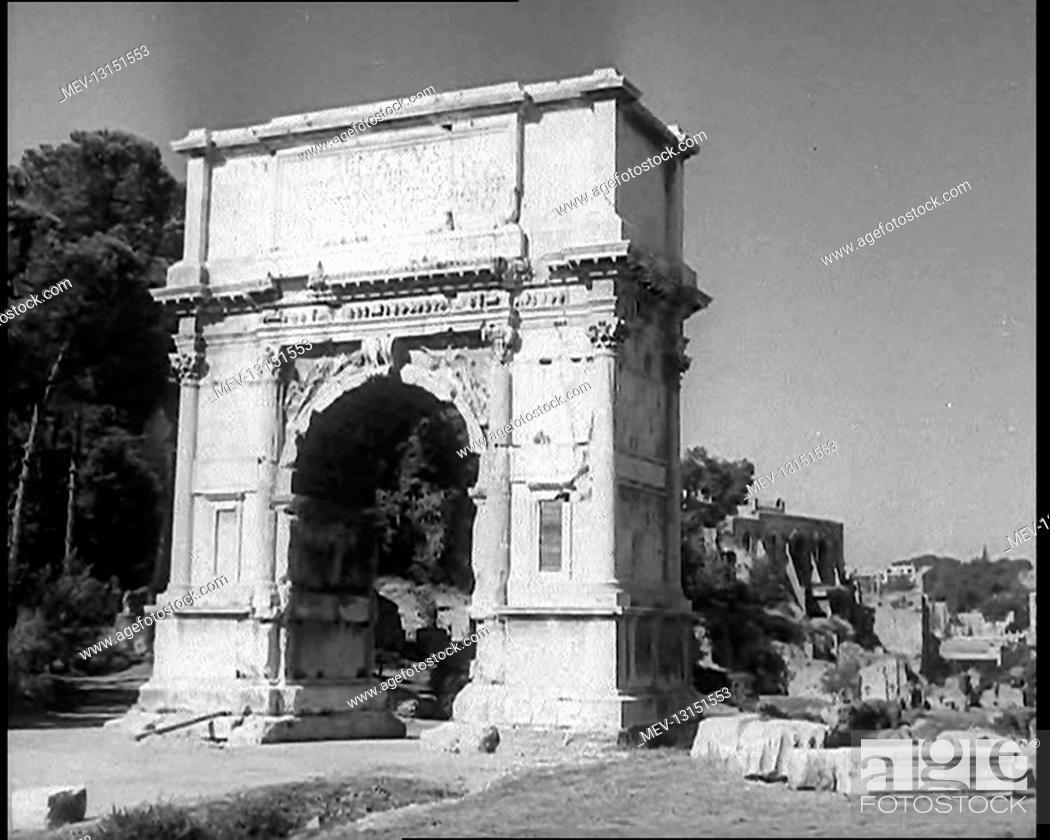 Stock Photo: A Landmark in Rome, Italy - Italy.