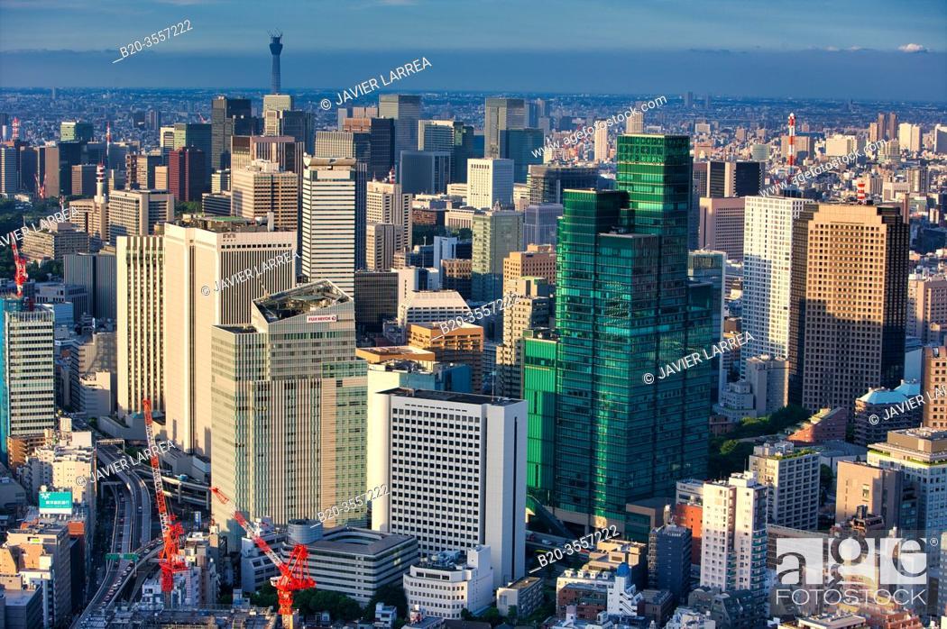 Imagen: Skyscraper, Izumi Garden Tower, Tokyo City View, Tokyo, Japan.
