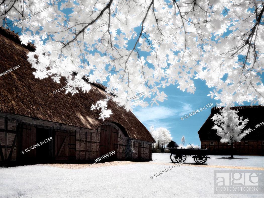 Stock Photo: Langballig, Unewatt.