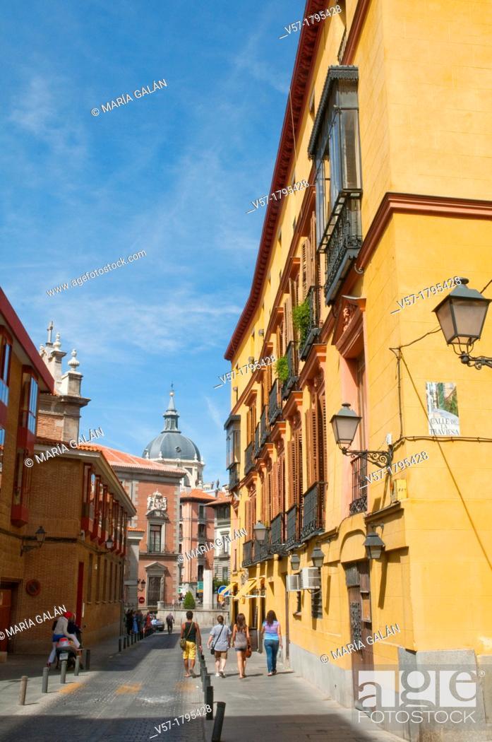 Stock Photo: Sacramento street. Madrid, Spain.