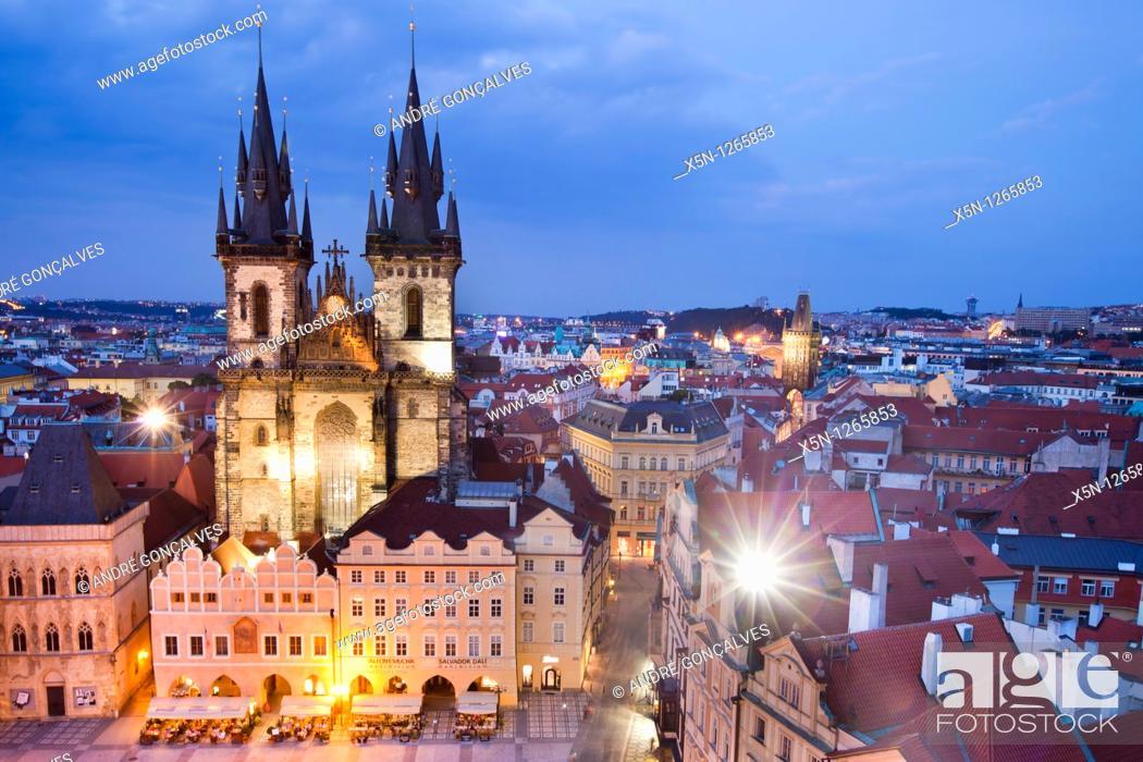 Stock Photo: Prague, Czech Republic.