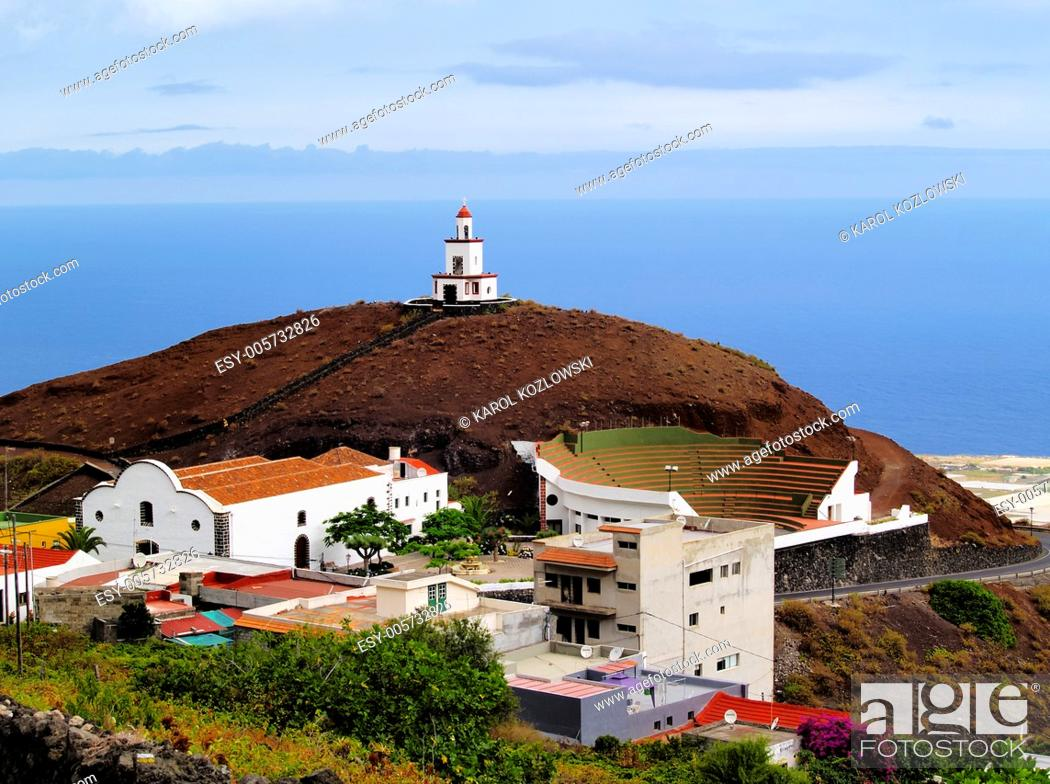 Stock Photo: Candelaria Church in Frontera Region on Hierro, Canary Islands, Spain.