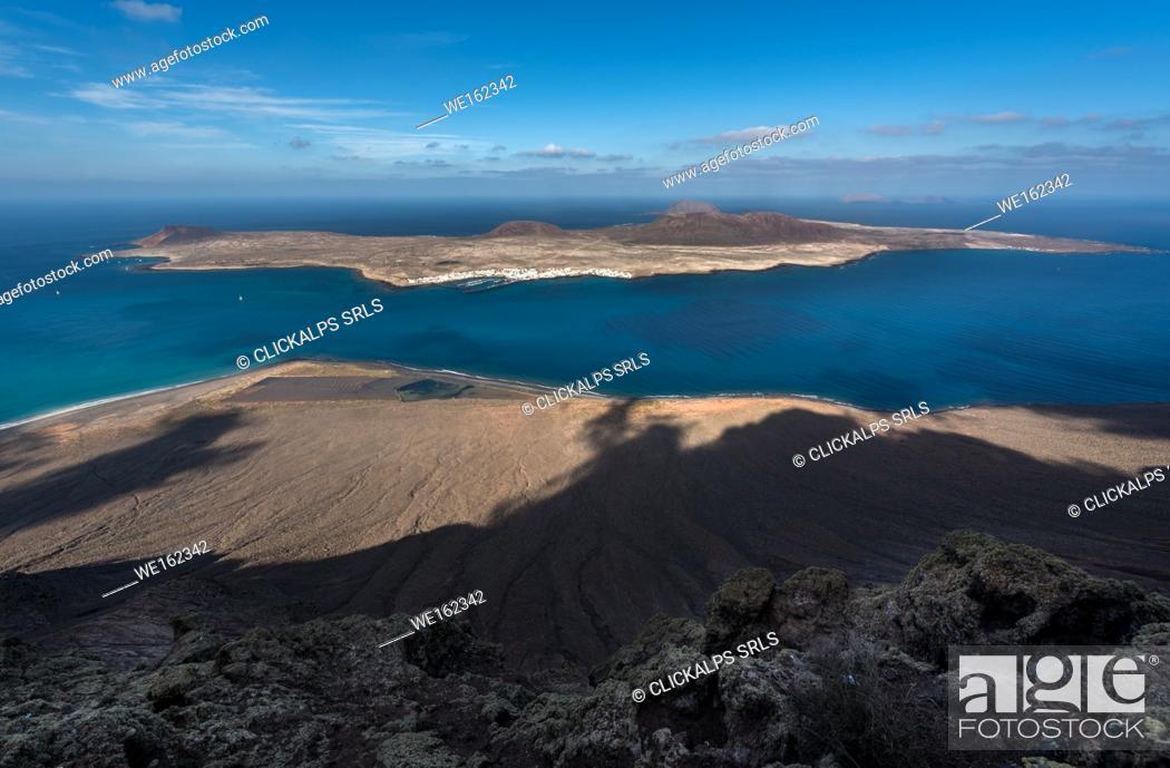 Stock Photo: La Graciosa island, Canary island, Spain, Europe.