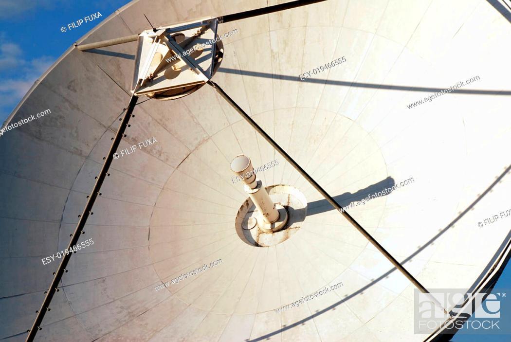 Stock Photo: Detail of parabola.