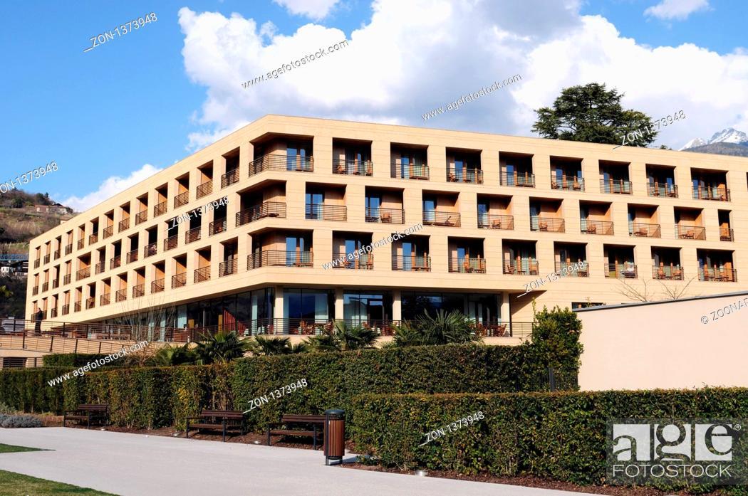 Stock Photo: Hotel Terme Merano.