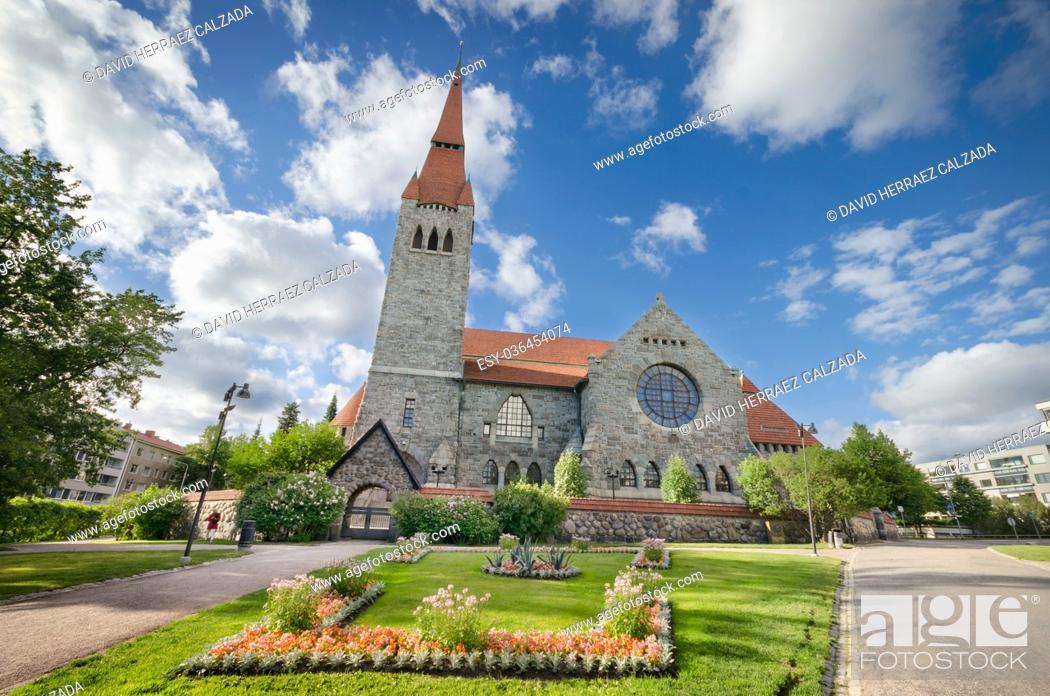 Stock Photo: Tampere cathedral, Finland.