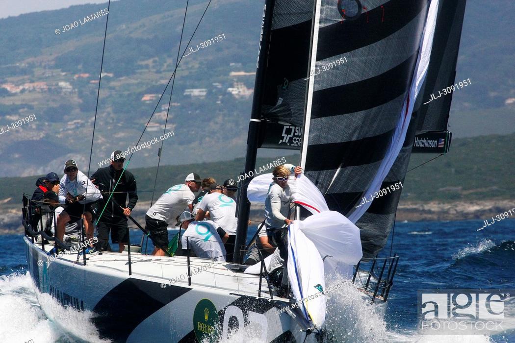 Stock Photo: Quantum Racing, #03, Owner: Doug DeVos, Sail nr: USA52015, Yacht Club Macatawa Bay YC, Builder: Longitude Cero composites S.L.