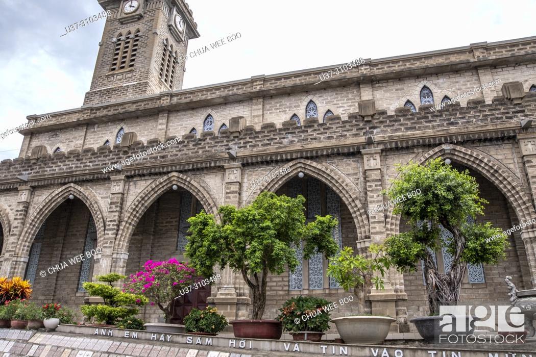 Photo de stock: The Stone Cathedral Church, Nha Trang, Vietnam.