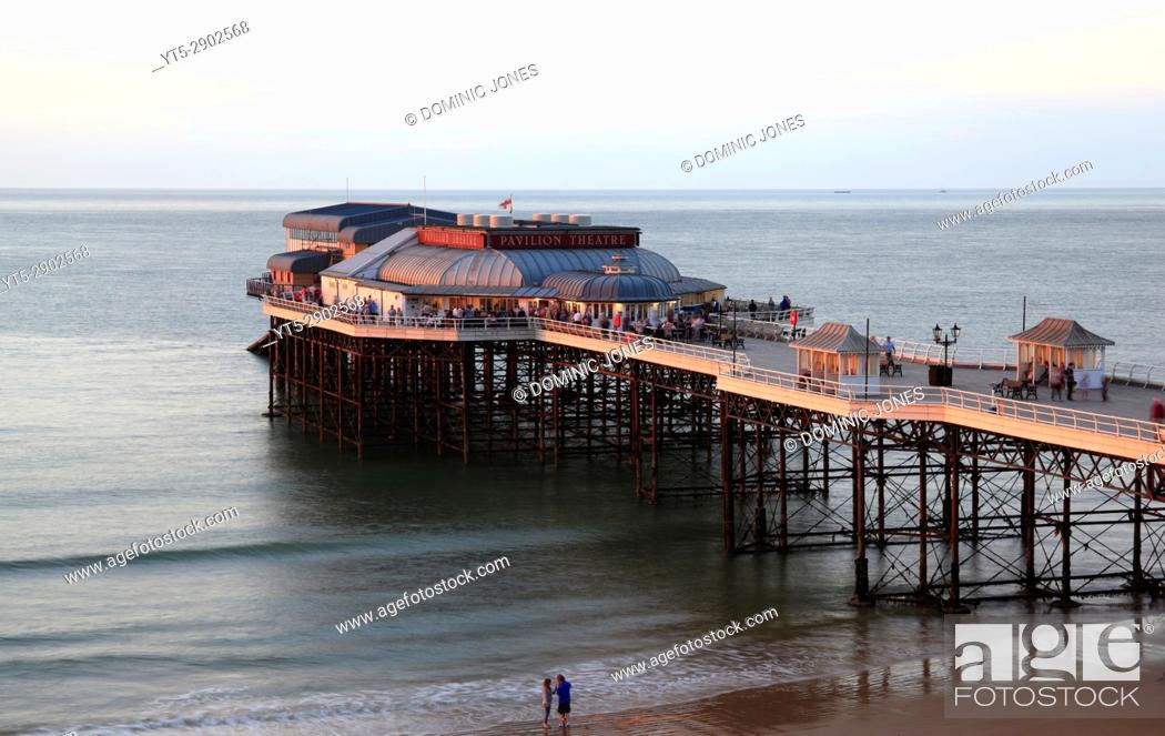 Stock Photo: The traditional pier at Cromer, North Norfolk, England, Europe.