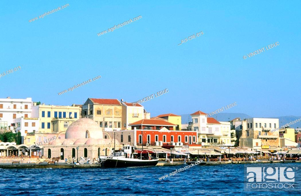Stock Photo: Greece - Crete - Rethymnon.