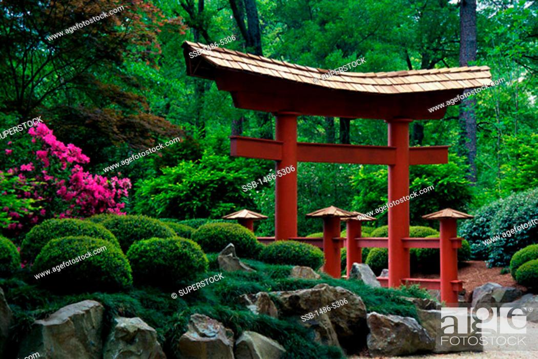 Botanical Gardens Birmingham Alabama, USA, Stock Photo, Picture And ...