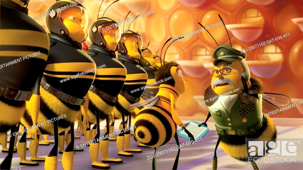 Stock Photo: RELEASE DATE: November 2, 2007. MOVIE TITLE: Bee Movie - STUDIO: Paramount Pictures. PLOT: Barry B. Benson (Seinfeld), a bee who has just graduated from college.