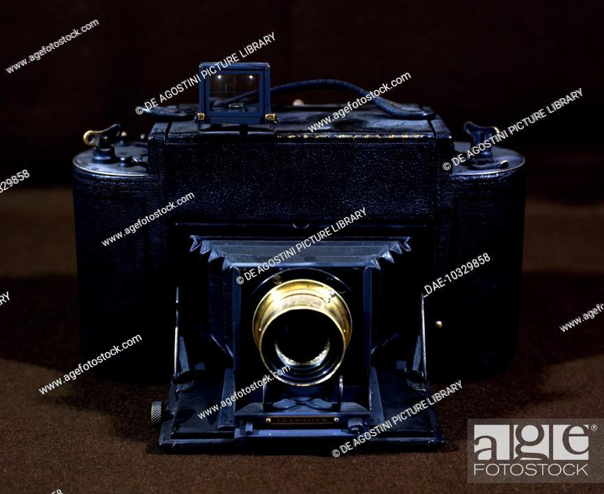 Graflex 1-A-6 Reflex USA camera, ca 1900, Zeiss anastigmat lens, 8