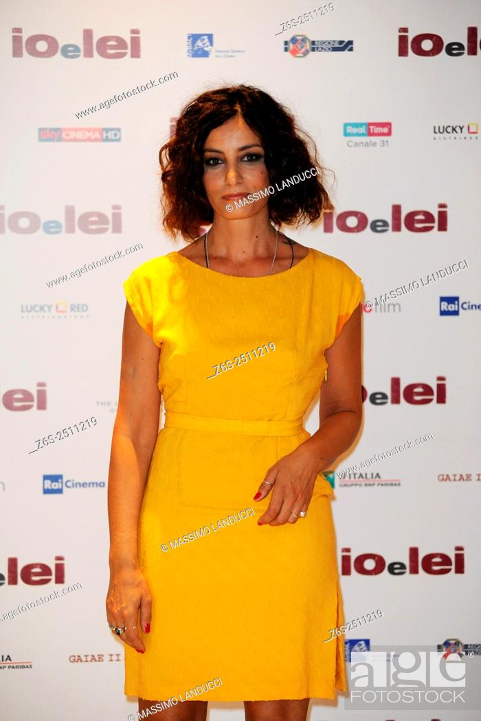 Imagen: Alessia Barela; barela ; actress; celebrities; 2015; rome; italy; event; photocall ; io e lei.
