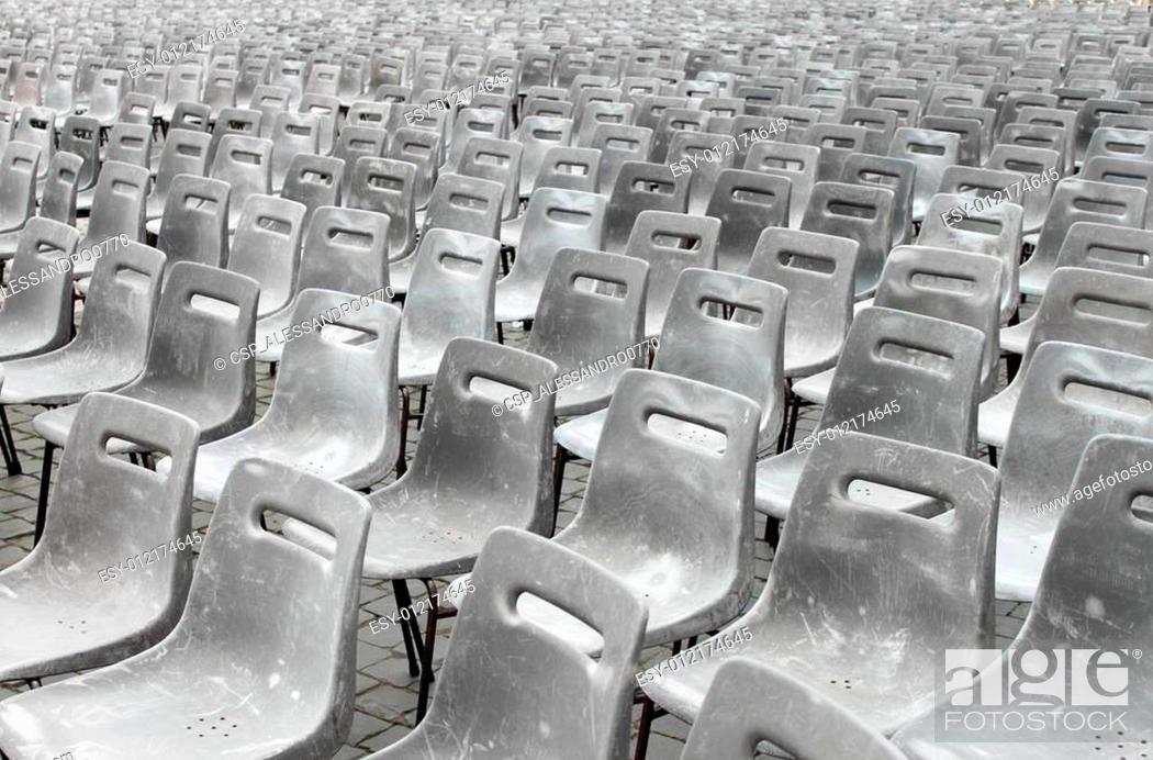 Stock Photo: Empty theater.