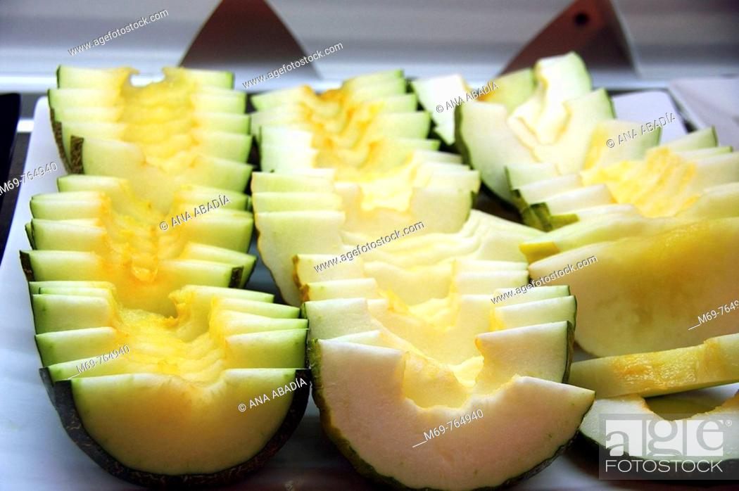Stock Photo: Melon.