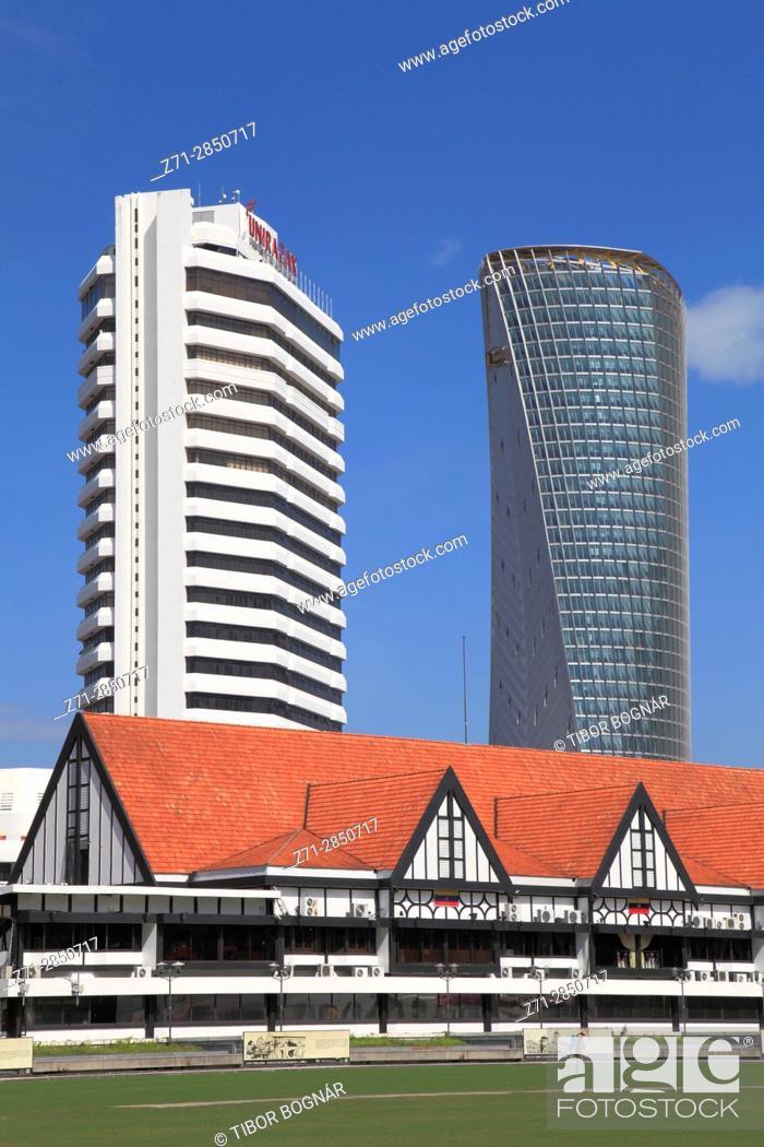 Photo de stock: Malaysia, Kuala Lumpur, Merdeka Square, Royal Selangor Club,.
