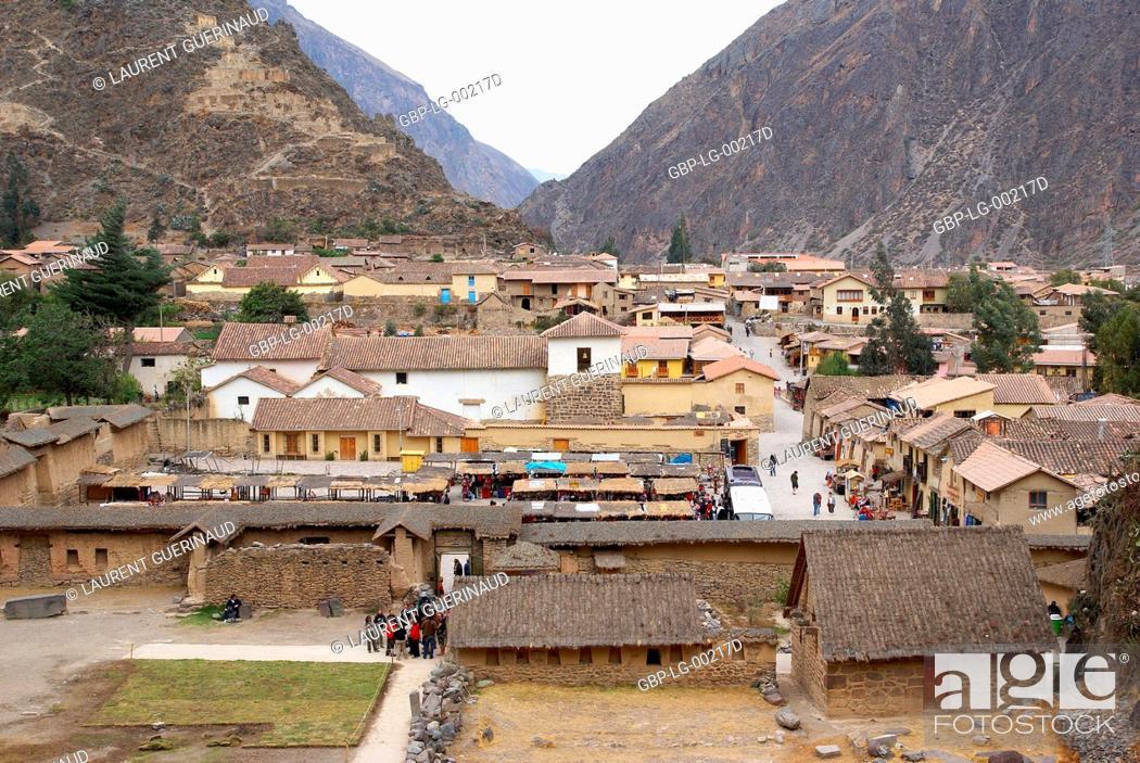 Imagen: Ollantaytambo, Worth Sacred of Los Incas, Region of Cusco, Lima, Peru.