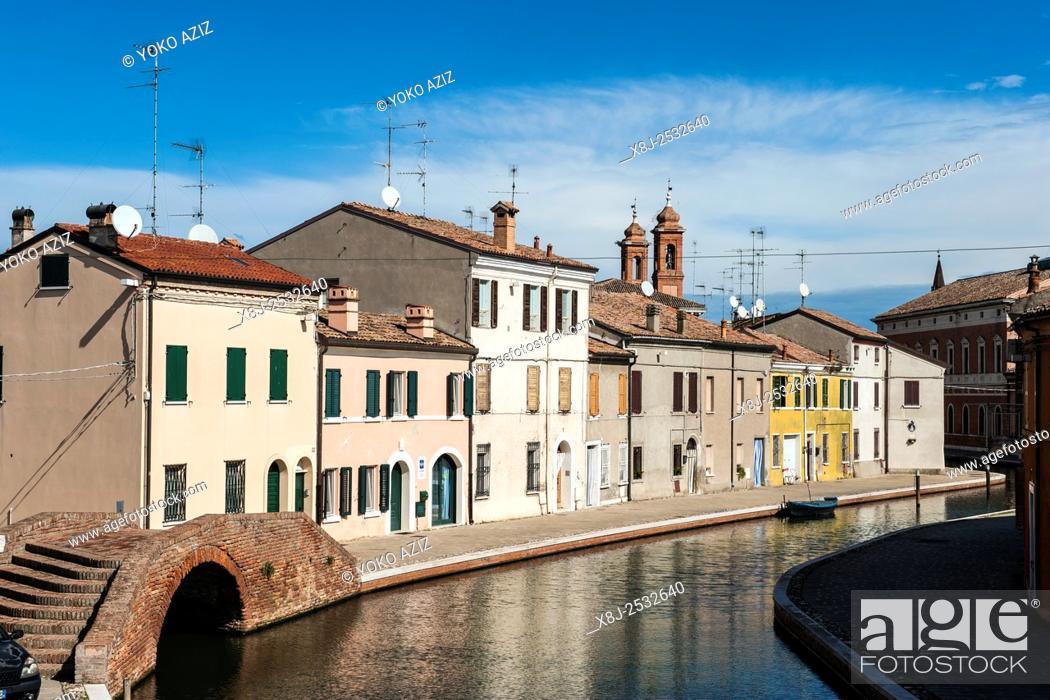 Stock Photo: Italy, Emilia Romagna, Comacchio.