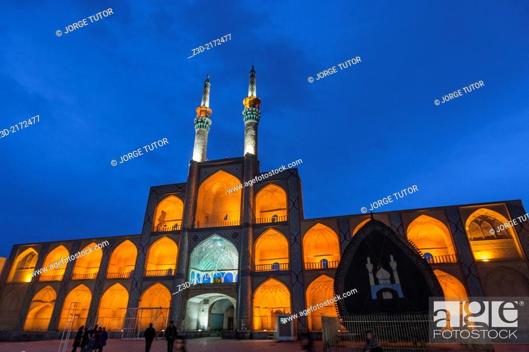 Stock Photo: Amir Chakhmaq Complex, Yazd, Iran.