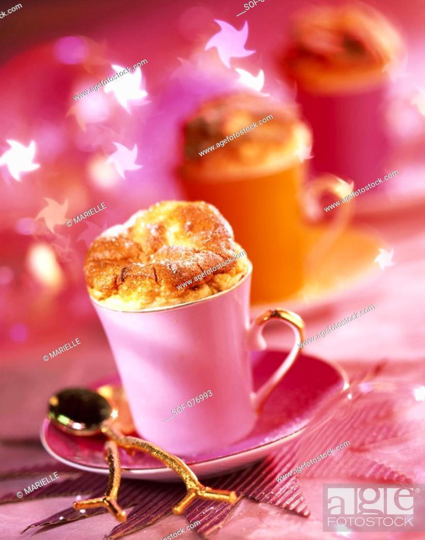 Stock Photo: champgane soufflé.