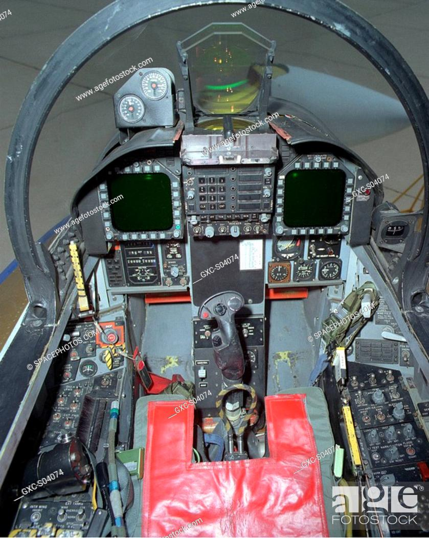 The F 18 Harv Retains The Basic F 18 Cockpit Controls With Some Exceptions Stock Photo Picture And Rights Managed Image Pic Gxc S04074 Agefotostock