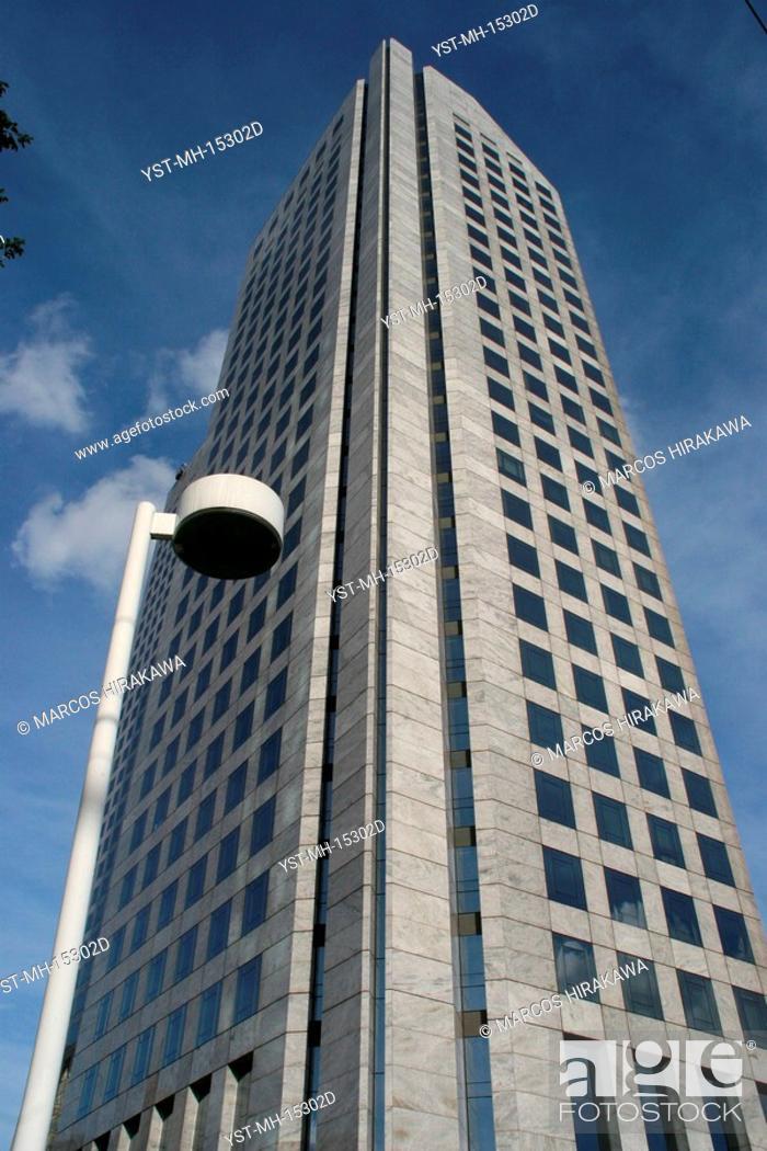 Stock Photo: I center Business Nações Unidas, World Trend Center, São Paulo, Brazil.