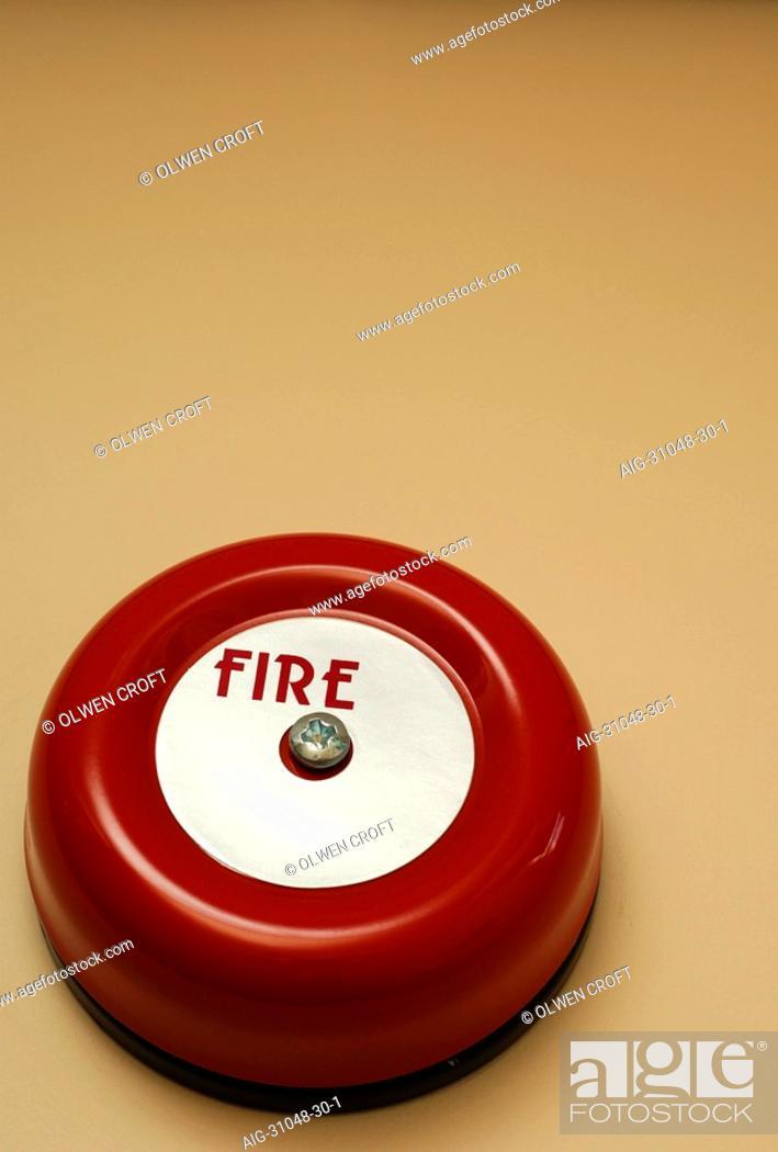 Stock Photo: Fire Alarm.