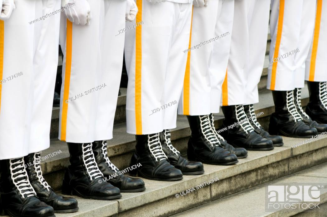 Stock Photo: Honour Guard of the Republic of China Taiwan.